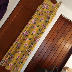 Latched Mama Floor length Dress